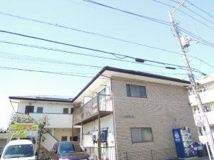 千歳船橋駅徒歩12分、世田谷区桜丘4丁目ペット相談可1K賃貸アパート外観